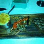 9oz Filet Mignon w/potatoes and mushrooms