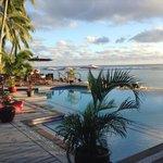 Manuia pool & Beach