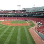 Fenway Park view from the Green Monster