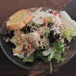 Dinner salad. Try one of the house dressings