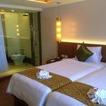New room decor - very lovely.