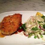 Signature Dish - Chicken Schnitzel & Coleslaw