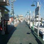 Fishing boats along the Harborwalk...so pretty!
