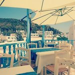 Our small terrace with a great view of Lefkes Village! # Lefkiano