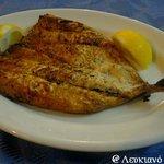 Grilled fillet Mackerel! # Lefkiano