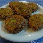 Fried zucchini balls! # Lefkiano