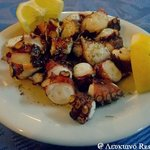 Grilled octopus! # Lefkiano