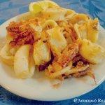 Fried Calamari! # Lefkiano