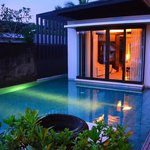 Villa Pool at Twilight