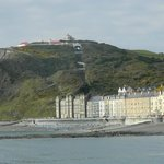 Constitution Hill + the Cliff Railway from the Beach