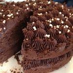 Home Made Chocolate fudge cake