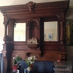 awesome mantel in house