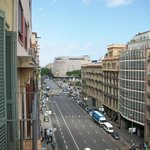 View to Placa de Catalunya