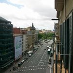 View to Placa de Universitat