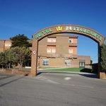 Infarten till hotellet