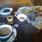 la foto non è un gran che ma la colazione merita!