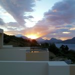 sunrise over Plakias