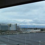 View of new 49er's stadium from concierge lobby 8th floor