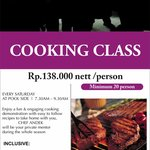Saturday Cooking Class