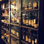 Whisky in the Cambridge shop
