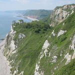View from walk on SW Coastal Path