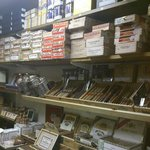 Walk in Humidor in the Cambridge Tobacconist