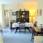 Dining room from residents' lounge