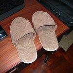 Tatty slippers