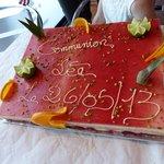 Le gâteau souvenir...