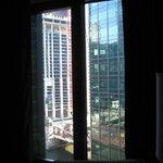 dalla finestra