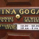 entrada da sinagoga