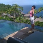 Private Plunge Pool in Villa overlooking the Indian Ocean