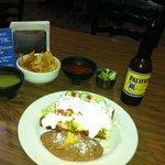 Chimichangas en el Restauran PITIC del Hotel Suites Kino en Hermosillo