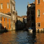A side street or canal in Venice