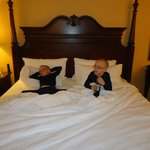 My grandsons loved their stay!