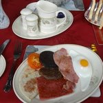 Highland Breakfast at the A-Haven Townhouse Hotel