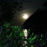 Full moon  at Urraca