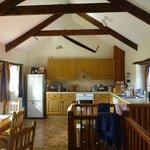 Kitchen of Honeysuckle cottage