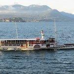 """Piemonte""  old paddle steamer"