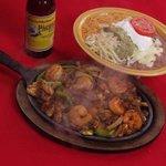 Fajitas: Chicken, Beef, and Shrimp