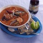 """""""Caldo de Mariscos"""" - Seafood Soup"""