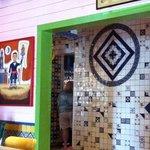 Interesting tile work