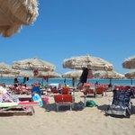 spiaggia dell hotel
