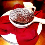 Chocolate Souffle for two... Or one....