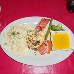 lobster tail with fettacine alfredo
