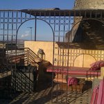 terrasse supérieure