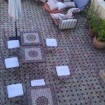 première terrasse