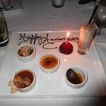 Our dessert course