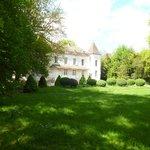 Jardin & Façade du Domaine de Pellerey