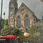 Une autre église que l'on aperçoit de la fenêtre de la Ch. 101.